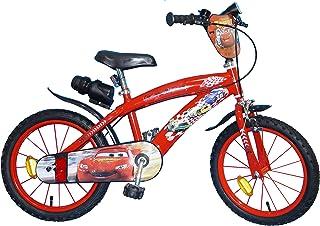 TOIMS Cars - Bicicleta Infantil para niño