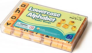 Educational Insights Alphabet Rubber Stamps - Lowercase 5/8