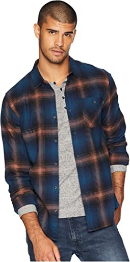 Dillishaw Flannel Woven Top