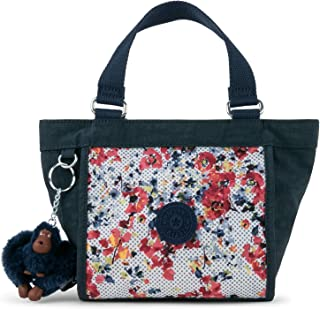 Shopper Printed Minibag, Busy Blossoms Blue Combo