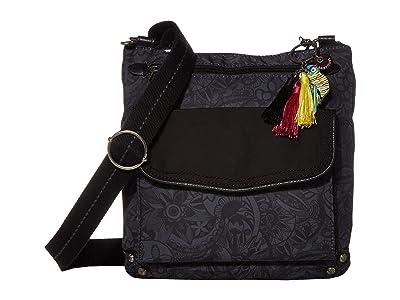 Sakroots Camino Swing Pack (Black Spirit Desert) Handbags