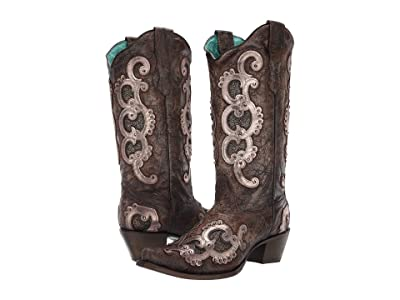 Corral Boots E1509 (Brown/Grey) Women