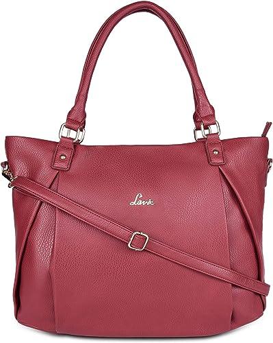 Aalto Large Horizontal Women s Tote Bag Dark Red