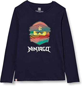 LEGO MW-Langarmshirt Lentikulardruck Ninjago Camiseta para Niños