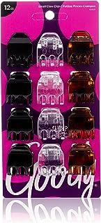 Goody 1942512 Classics Small Half Claw Clip, Multi-Colour ' 12 Units