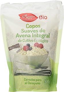 comprar comparacion Granero Copos Suaves De Avena Integral Sin Gluten Bio 500 Bolsa 500 Gramos 500 ml