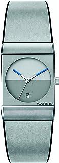 Jacob Jensen - Reloj Analógico para Unisex Adultos de Cuarzo con Correa en Acero Inoxidable Classic Series 512