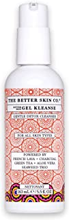The Better Skin Co. | Gel Kleanse - Facial Cleanser W/Charcoal, French Lava, Green Tea, Aloe To Detoxify & Cleanse The Skin