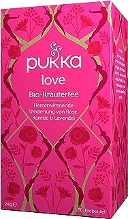 Pukka Bio-Tee Love 80 Teebeutel, 4er Pack 4 x 20 beutel