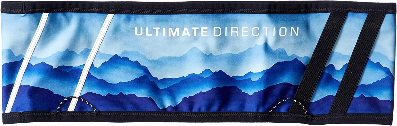 Ultimate Direction Comfort Belt, Running Belt with Built-in Pockets, Key Clip, Reflectivity, & More