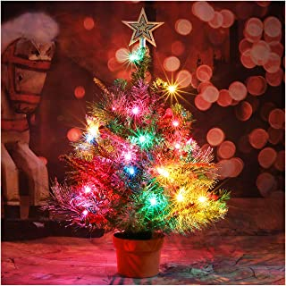 Best small pre lit tabletop christmas trees Reviews