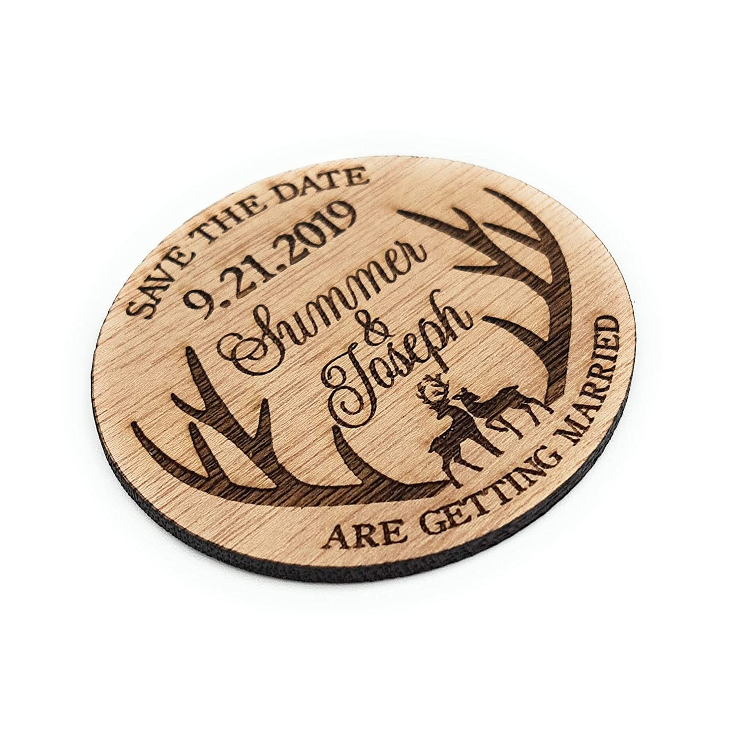 Wedding Save the High quality new Date magnets wooden dates wo save Max 67% OFF wedding