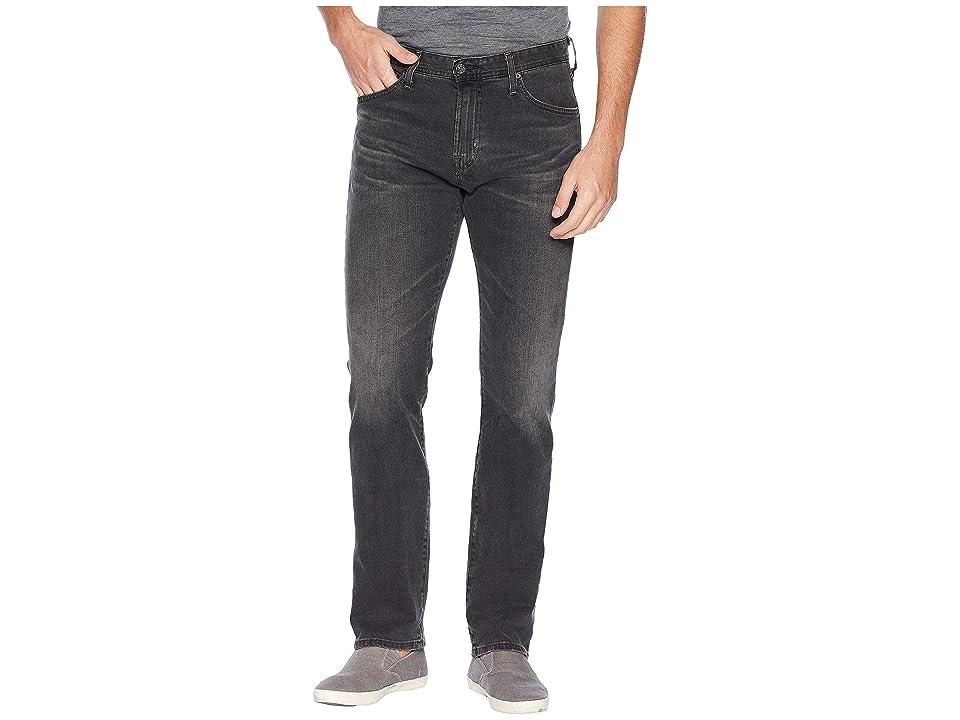 Image of AG Adriano Goldschmied Everett Slim Straight Leg Denim Pants in 6 Years Arcade (6 Years Arcade) Men's Jeans