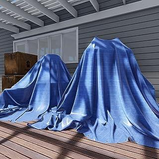 Sunshades Depot 16x20 Feet General Multi-Purpose 5 Mil Waterproof Blue Multi Purpose Waterproof Poly Tarp Cover 5 Mil Thic...