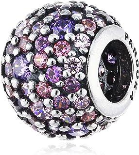 Pandora Women's Sterling Silver Pave Ball Charm - 791261ACZMX