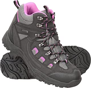 Mountain Warehouse Adventurer Womens Boots - Waterproof Rain Boots, Synthetic & Textile Walking Shoes, Added Grip Ladies S...