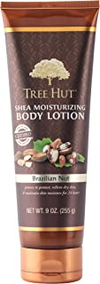 Tree Hut Shea Moisturizing Body Lotion, Brazilian Nut, 9 Ounce (Pack of 2)