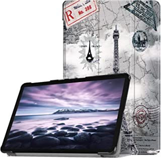 Samsung Galaxy Tab A 10.5 (SM-T590/T595) Case, EpicGadget Lightweight Slim Smart Cover Leather Case Stand Cover with Auto Sleep/Wake for Tab A 10.5