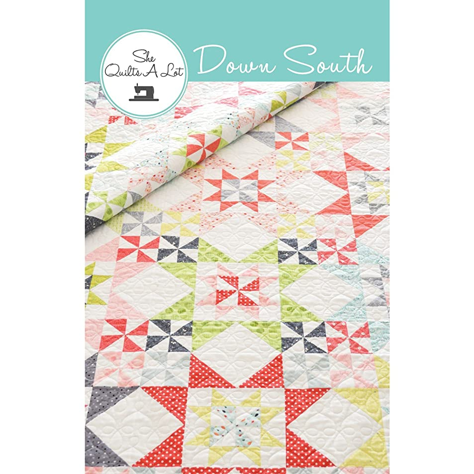 Down South Quilt Pattern by She Quilts A Lot - 2 sizes - SQA15003 ezltqqob1020