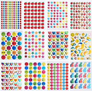 Coopay 7060 Pieces Teacher Stickers for Kids, Reward Stickers Mega Variety Pack, Incentive Stickers for Teacher Supplies C...