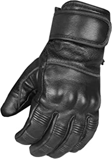 Men`s Motorcycle Premium Perforated Leather Gel Palm Biker Cruiser Gloves XXL