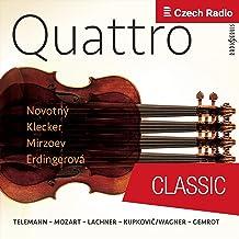 Concerto for four Violins C Major, 40:203: III. Largo e staccato