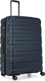 Antler Juno 2 4W Large Roller Suitcase Hardside, Navy, 81cm