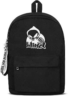 Blind-Skateboards-logo- Backpack Classic Durable Convas School Bag For Women & Men