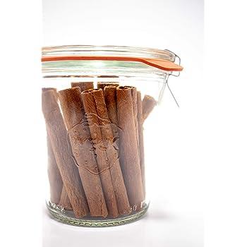 Weck 900 Tall Mold Jar - 1/5 Liter, Set of 6