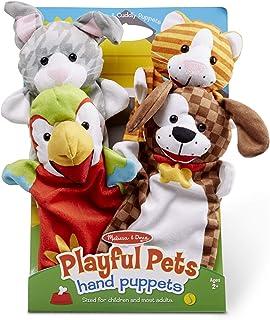 Melissa and Doug Playful Pets Hand Puppets