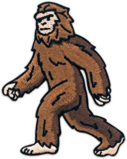 Winks For Days Bigfoot Sasquatch Embroidered Iron-On Patch