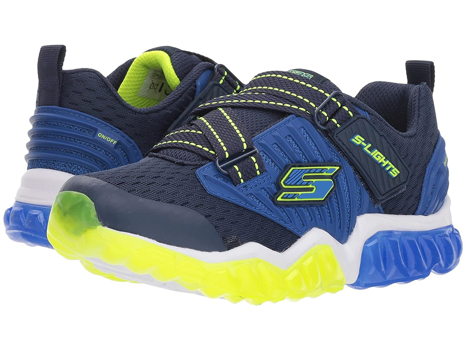SKECHERS KIDS Rapid Flash 90721L Lights (Little Kid/Big Kid)Atmospheric grades have affordable shoes