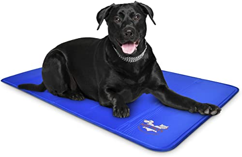 """2021 Arf Pets Dog Self Cooling Mat Pad 35"""" x 55"""" wholesale for lowest Kennels, Crates and Beds, Non-Toxic, Durable Solid Cooling Gel Material. No Refrigeration or Electricity Needed, Extra Large sale"""
