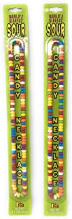 Worlds Biggest Sour Candy Necklace - 2 pack