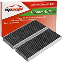 EPAuto CP553 (CF10553) Replacement for Nissan Premium Cabin Air Filter includes Activated Carbon