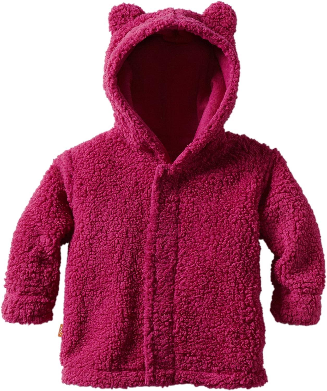 Magnificent Baby Baby Girls' Magnetic Smart Little Bear Fleece Hooded Jacket