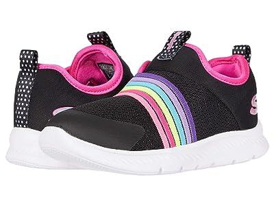 SKECHERS KIDS Comfy Flex 2.0 Rainbow Frenzy 302171N (Toddler/Little Kid) (Black/Multi) Girl