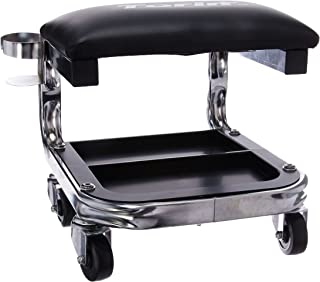 Torin TR6340 Creeper H.D. Shop Seat W.Cup Holder, 1 Pack