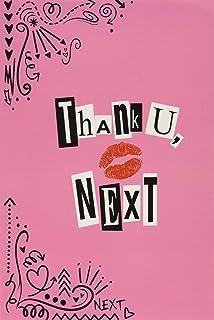 Thank U, Next: Ariana Grande Lyric Notebook Journal 100 Page College Ruled.