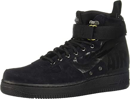 best service 5cfec 50f0a Nike Men s Sf Air Force 1 Mid Sneaker, Black Cool Grey 008, ...