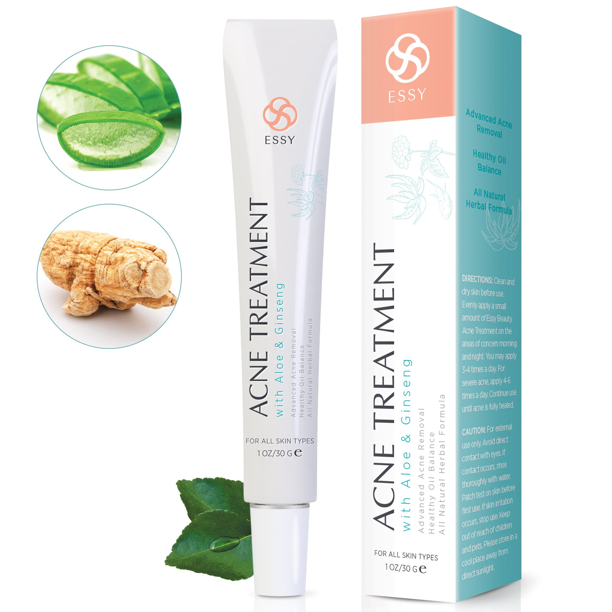 Acne Cream Aloe Ginseng Advanced