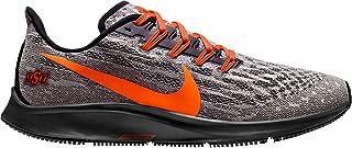 Nike Men's Oklahoma State Air Zoom Pegasus 36 Running Shoes - Grey/Orange,7.5M US