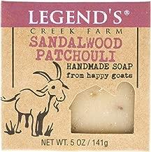 Sandalwood Patchouli Goat Milk Soap - 5 Oz Bar - Great For Sensitive Skin - Certified Cruelty Free