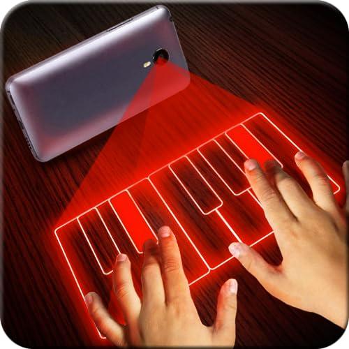 Hologramm Klavier Simulator