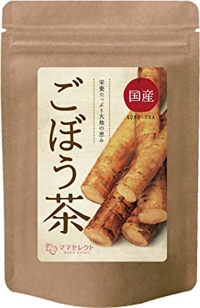 ごぼう茶 無添加 国産 ごぼう 100% (北海道•青森県産) 食物繊維 イヌリン ティーバック 2g×30包