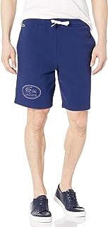 Men's Tonal Embroidered Graphic Fleece Shorts