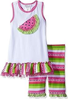 72d9206e77f Bonnie Jean Toddler Girls  Sleeveless Knit Appliqued Dress and Legging Set