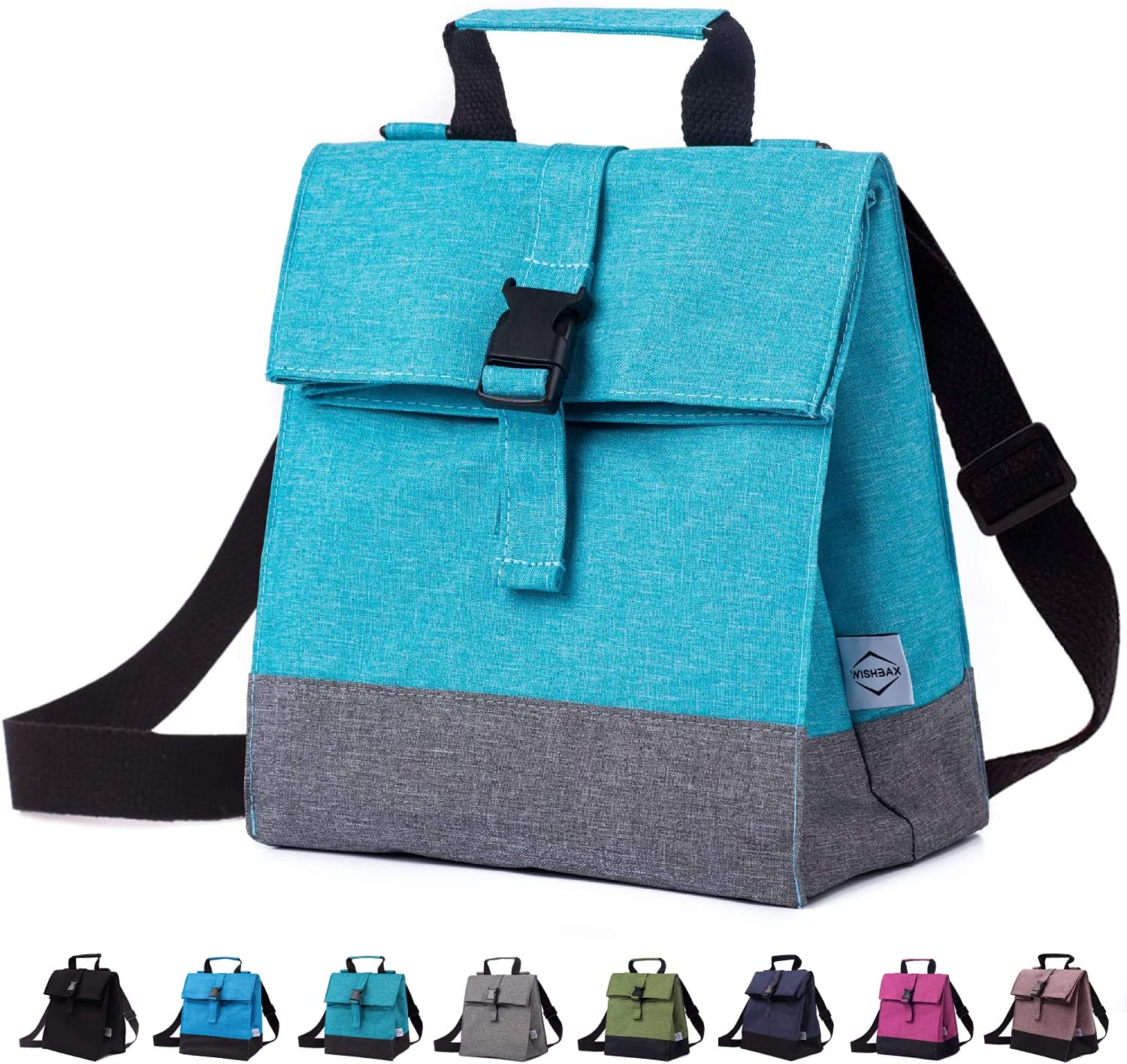 WISHBAX Insulated Lunch Bags for Women Max 72% OFF Adult Shou Box W - Limited time for free shipping