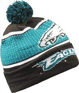 Forever Collectibles NFL Philadelphia Eagles Big Logo Knit Light Up Beanie Hat