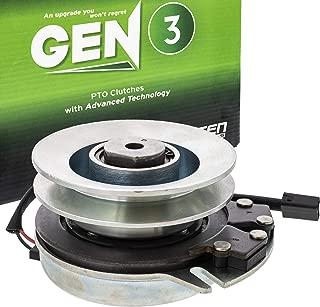 8TEN Gen 3 Electric PTO Clutch for John Deere STX38 STX46 Black Deck Honda Warner 5217-36 AM121972 5217-20